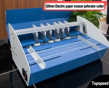 Electric Paper Creaser Perforator Cutter 3 in 1 combo 520mm стоимость