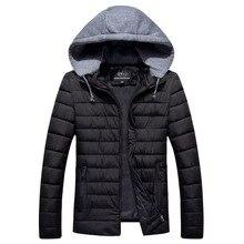 9XL COTTON Long Warm Outwear Softshell Men's Winter Jacket Man Brand Clothing Male Coat Black Ultralight Down Parkas 6XL 7XL 8XL