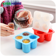 Multi-color Ice Makers Bar Party Drink Tray Cool Shaped Creative Cube Freeze Mold Maker High Quality Silicone Mould
