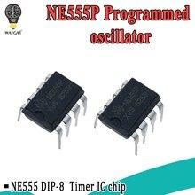 10 шт. NE555 555 DIP-8 IC таймеры Новый Хорошее качество точный таймер