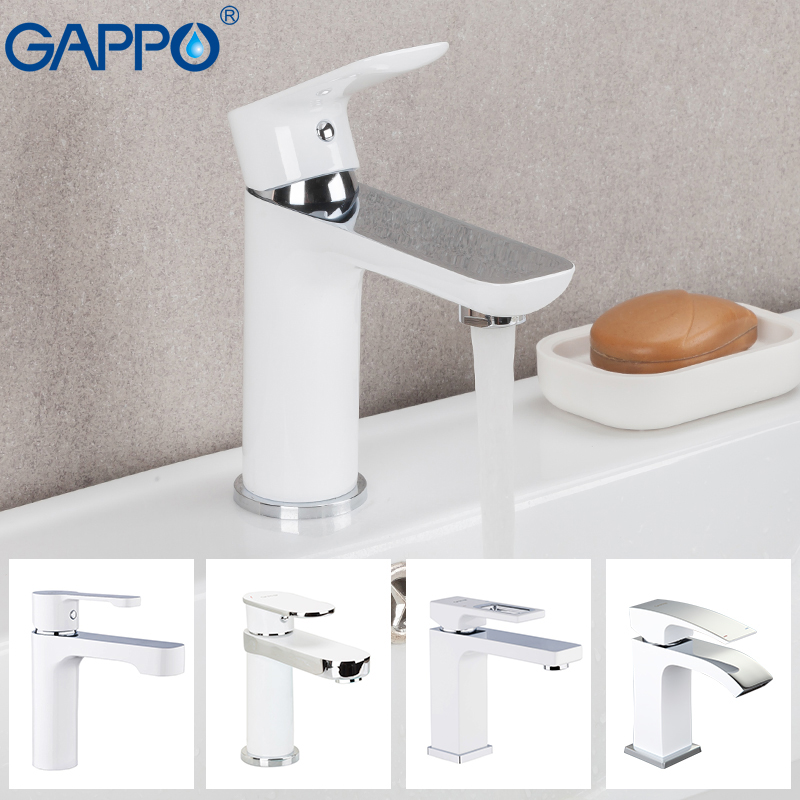GAPPO Basin Faucet brass tap sink faucet bathroom faucet mixer deck mounted basin mixer taps waterfall