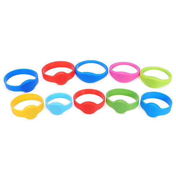 Fashion Style 100pcs/lot 125khz T5577/t5567/t5557 Rewritable Rfid Wristband Bracelet Copy Clone Id Card For Swimming Pool Sauna Room Gym Demand Exceeding Supply Access Control