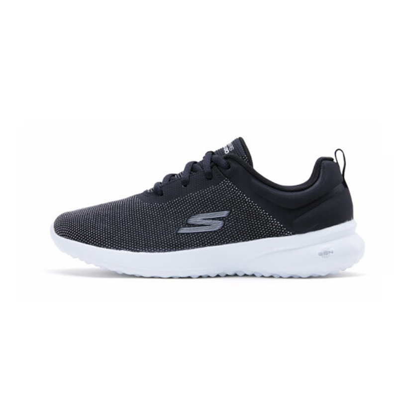 Skechers Shoes Woman Casual Shoes Comfortable Breathable Walking Women Shoes Trainers Brand Luxury Shoes Women 14763 BKW - 2