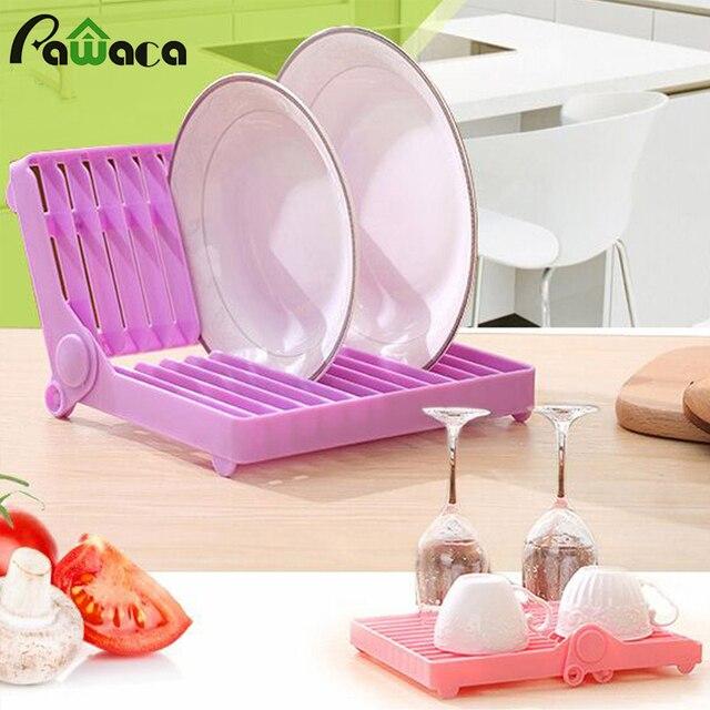 Egouttoir A Vaisselle Pliable Support Pour Support De Plat Plateau