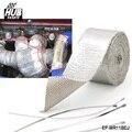 Hubsports-Reforçado Fita de Alumínio Resistente Ao Calor Escudo Do Carro Envoltório Para Todo O tubo De Admissão/Kit de Sucção EP-WR11BDJ