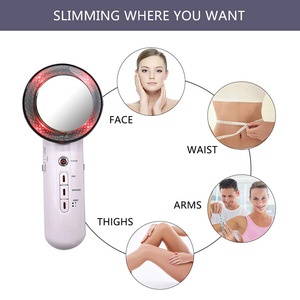 Image 4 - EMS Body Slimming Massager Weight Loss Anti Cellulite Fat Burner Galvanic spa Infrared Ultrasound Cavitation Therapy