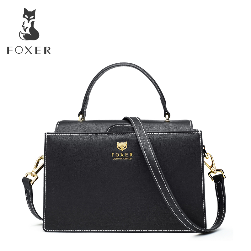 FOXER Brand Women Crossbody bag & Shoulder bags Ladies Messenger Bag Womens New Fashion Small Bags Cross-body Handbags