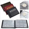 1 Uds. Álbum de colección de monedas 60 soportes de monedas colección libro de monedas libro de Color aleatorio