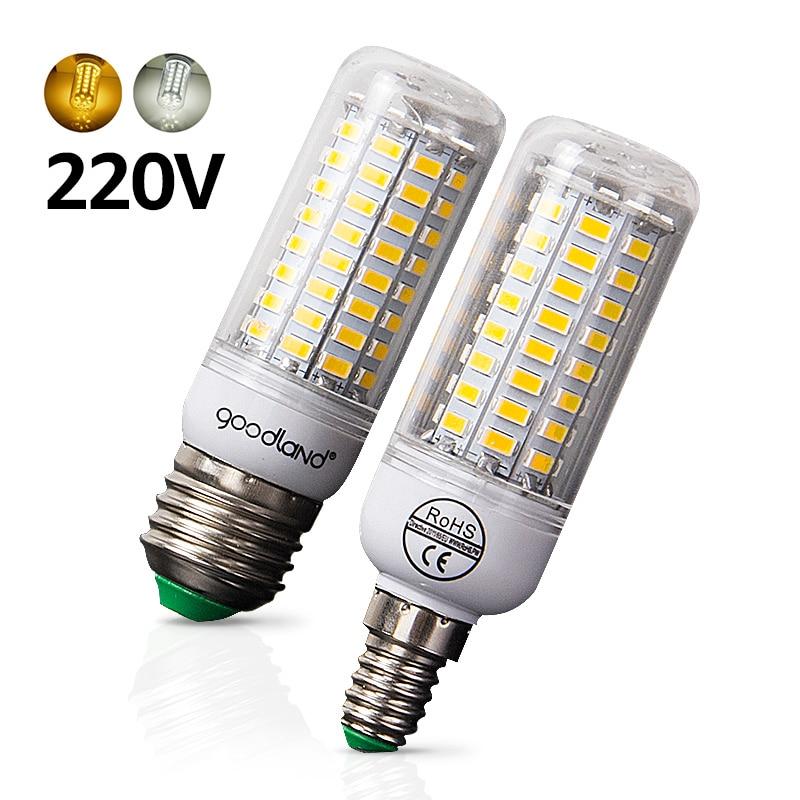 E27 LED Bulb E14 LED Lamp SMD5730 220V 230V LED Light 24 36 48 56 69 72LEDs Corn Light Chandelier Lighting for Home Decoration 2pcs real full watt 3w 5w 7w 8w 12w 15w e27 e14 led corn bulb 85v 265v smd 5736 led lamp spot light 28 40 72 108 132 156 leds
