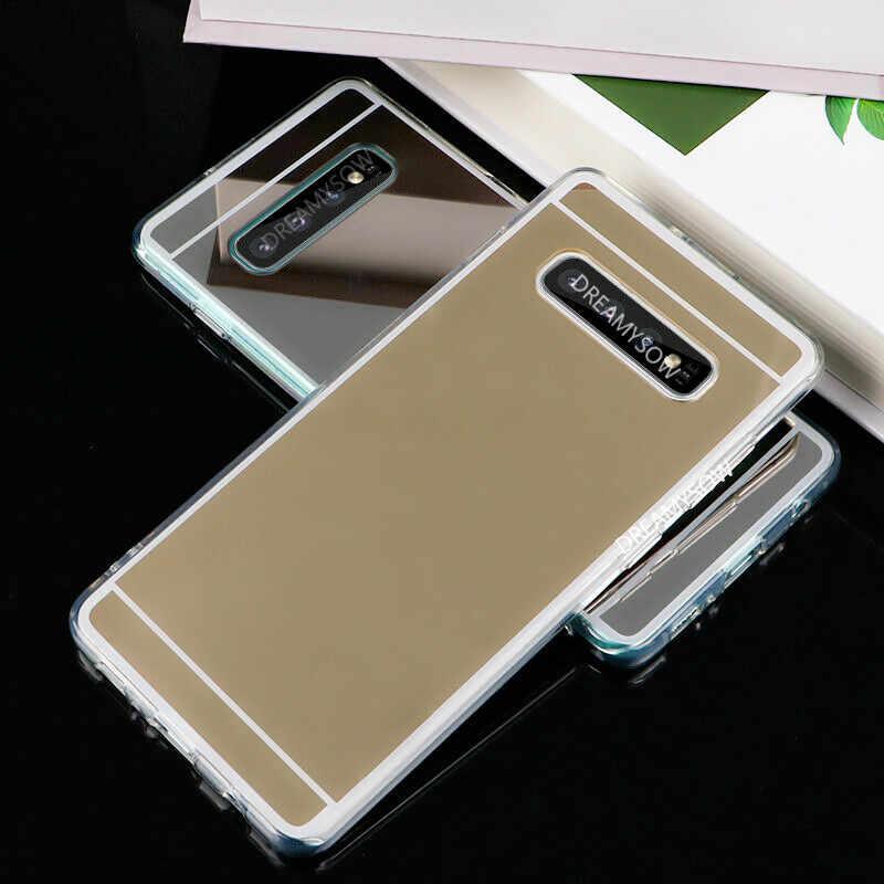 Фото Роскошный чехол с зеркальной поверхностью для samsung Galaxy M20 M10 S10 S9 S8 плюс S10E S6 S7 край