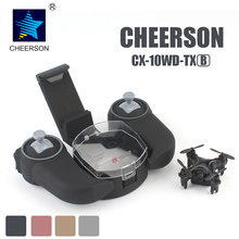 CHEERSON CX-10WD-TX 2.4G FPV RC Mini Drones with Camera Height Hold Mode CX-10WD Phone Controlled Mini Quadcopter With Camera(China)