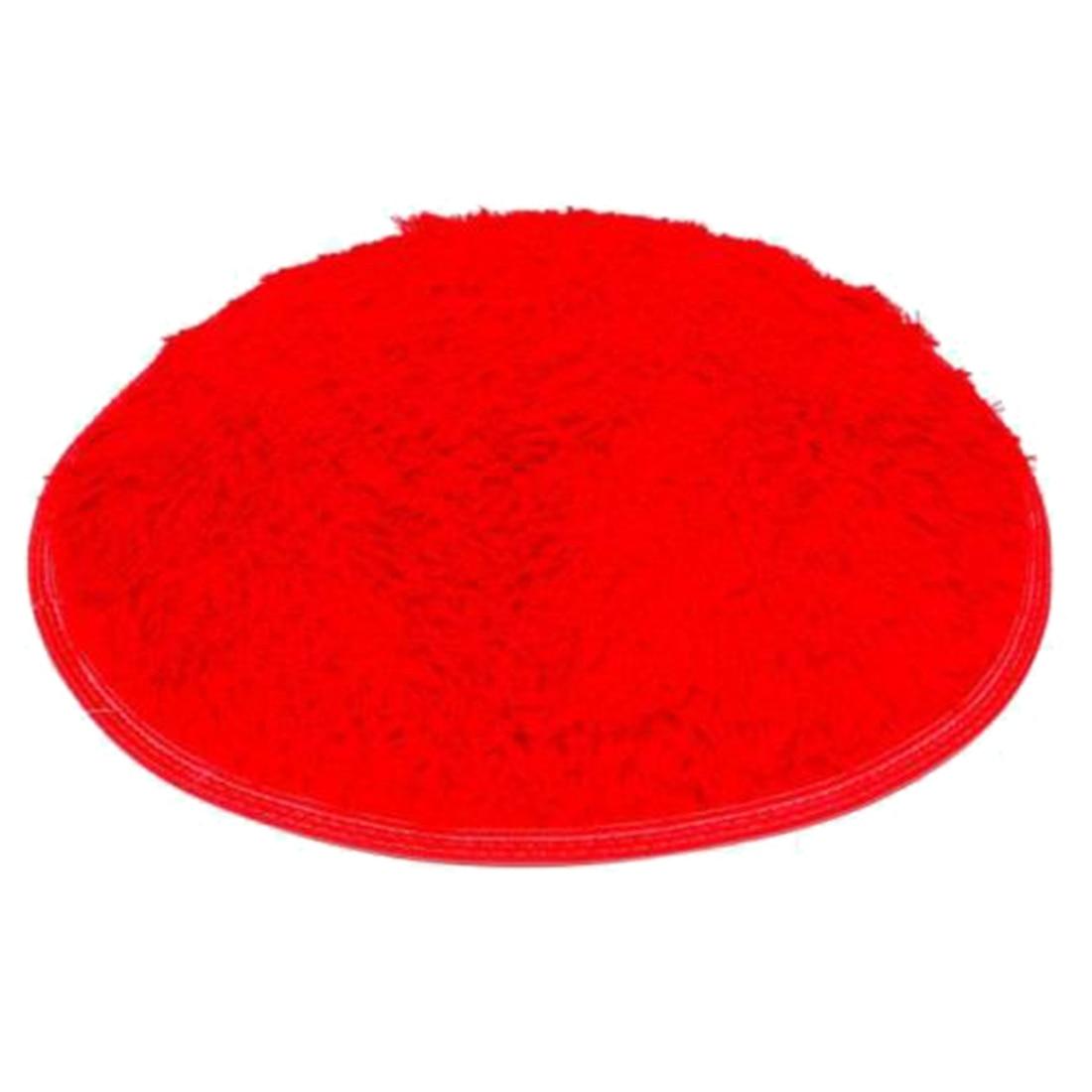 red bathroom rug, Home decor