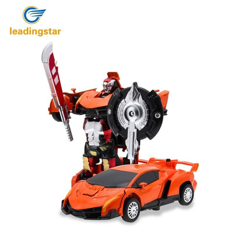 LeadingStar מפתח אחד דפורמציה המרכבה רובוט - צעצוע כלי רכב