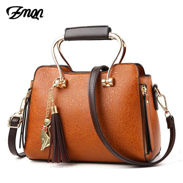 Zmqn Fashion Shoulder Bag Crossbody Female Solid Creative Tide Package Tassel Handbags For Women Handbag Retro