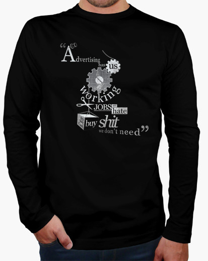 c953ff479c98 winter Time Limited Cotton tee homme de marque full le fight club - devis t  shirt sweatshirts Long Sleeve Letter short O neck