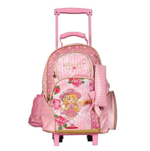 e95bab955 Sacos de escola crianças mochilas bolsa feminina linda princesa mochila  feminina mochila infantil saco de criança carrinho de 88116 em Mochilas  escolares de ...