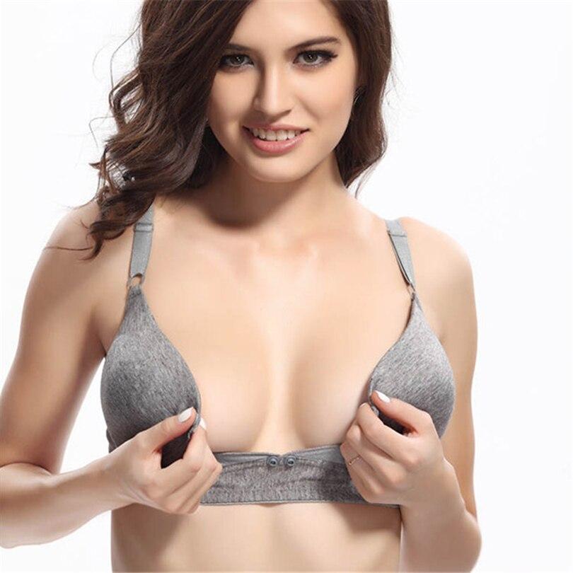 Open tip bra for mature women