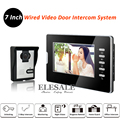 "New 7"" Video Door Phone Intercom Entry System 700TVL Camera Color LCD Monitor Night Vision For Home Intercom"