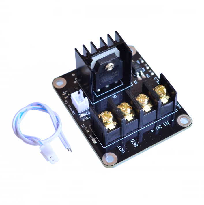 Humble New 3d Printer Hot Bed Power Expansion Board Heatbed Power Module Mos Tube High Current Load Module