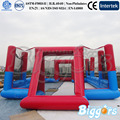 Sea Shipping Outdoor Inflatable Soccer Football Pitch Filed Sports Game