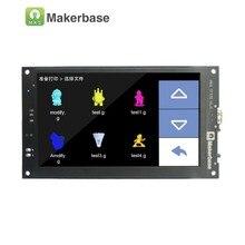 3D yazıcı ekran MKS TFT70 ile 7.0 inç dokunmatik ekran önizleme olduğunu gcode modeli baskı ve destekler yedi diller