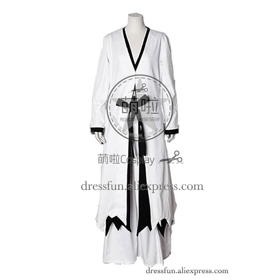 Bleach Cosplay Ichigo Kurosaki Hollow Costume Popular Uniform White Long Coat Outfits Fashion Party Fast Shipping Halloween