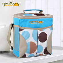 Apollo Ice bag 10L large Volume Ice pack Insulated thermal bag Thermal food bags Aluminum foil Cooler Bag beer cooler cool box