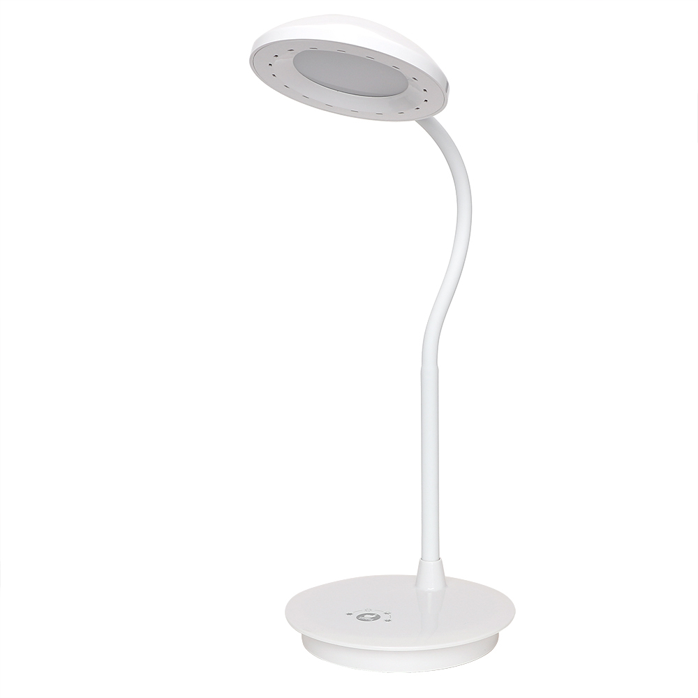 Book Reading Light Flexible LED Desk Lamp Dimmable Rechargeable Touch Light Adjustable White Table Lamp USB Charging 3 Model 2015new 3 mode touch dimmable warm white 8 led desk lamp charging atmosphere night light for bar coffee house bronze coloured
