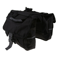 Trunk Saddle Bag Bicycle Rear Double Panniers Messenger Adjustable Luggage For Motorcycle Nylon