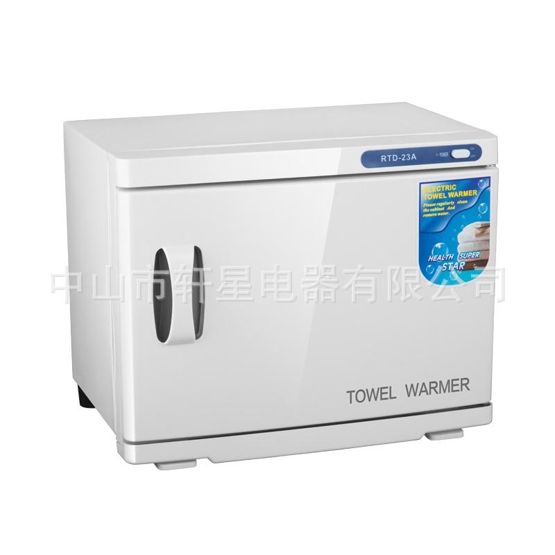 23L Commercial  Barber Shop Towel Warmer Cabinet  Ultraviolet Light Sterilizer  Towel Warmer  Disinfection Cabinet Dropshipping