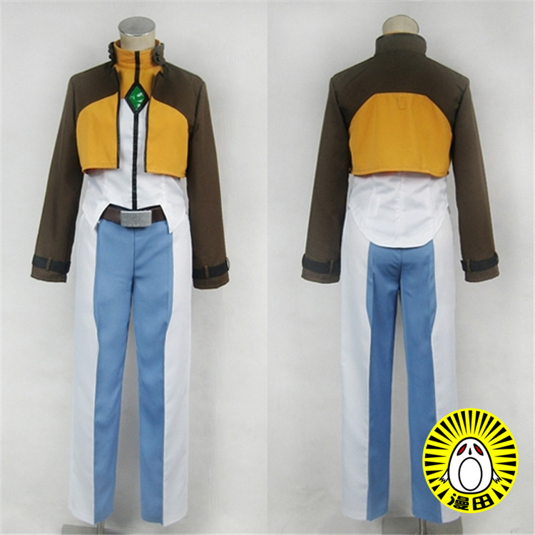 Free shipping Cartoon Anime Mobile Suit Gundam 00 Cosplay Allelujah Haptism Cos Woman Man Halloween Party Cosplay Costume