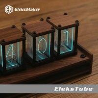 EleksTube|RGB Pseudo glow Tube Clock DIY Kit LED Desktop Creative Decoration