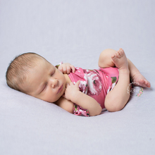 Newborn Props Soft Ruffle Sleeve Rompers Baby Boy Girls Floral Costume Infant Romper Photography Accessories