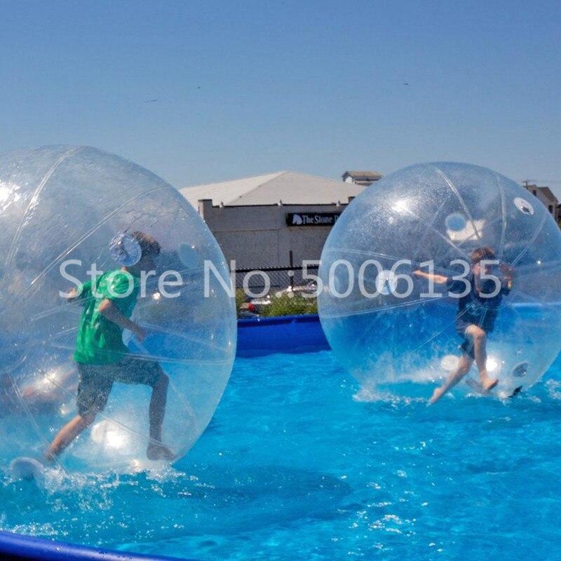 Bola de agua de Zorb pelota de juguete inflable Bola de hámster humano Alemania TIZIP cremallera de 2 m de diámetro para 1  2 personas-in Pelotas de juguete from Juguetes y pasatiempos    2