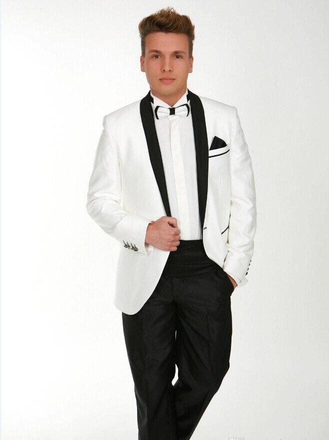 white jacket black pants - Pi Pants