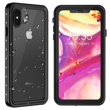 Original factory For iPhone Xs Max Waterproof case Shock Dirt Snow Proof Protection With Touch ID Case Cover for iPhone 6.5 inch for iphone xs max ip68 waterproof case water shock dirt snow proof protection for iphone xs with touch id case cover