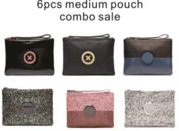 stock clean sale 6 color medium size pouch combo sale medium coin purse 20 cm x