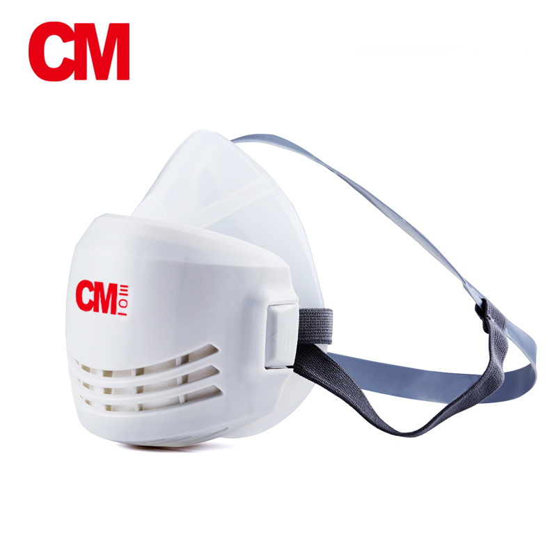 CM Anti-Dust Respirator Mask Industry Half Face Paint Spray Gas Mask Protective Mask Work Dust Proof Respirator Mask With Filter dust mask protection gas mask industrial anti dust mask respirator suit industry spraying safety proof respirator for paintting