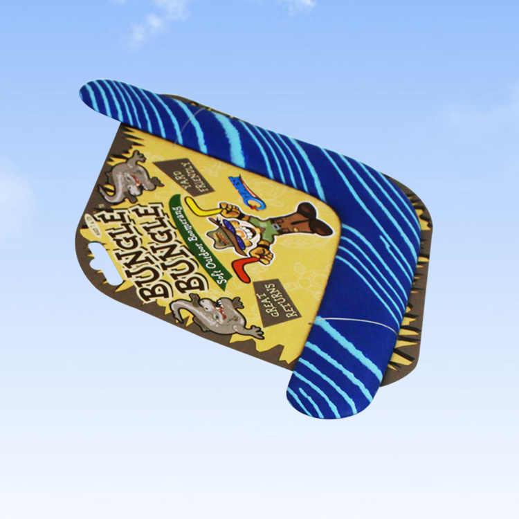 1 قطعة الاطفال لعبة إيفا السلامة لينة رمي و الصيد UFO V يرتد الأطفال اللعب في الهواء الطلق الرياضة لعبة تحلق الصحن القرص القرص