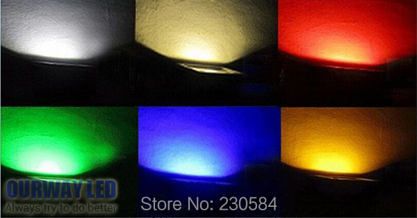 free shipping colorful 10w 20w 30w LED RGB Waterproof Floodlight outdoor lamp for decoration of tree,house and garden