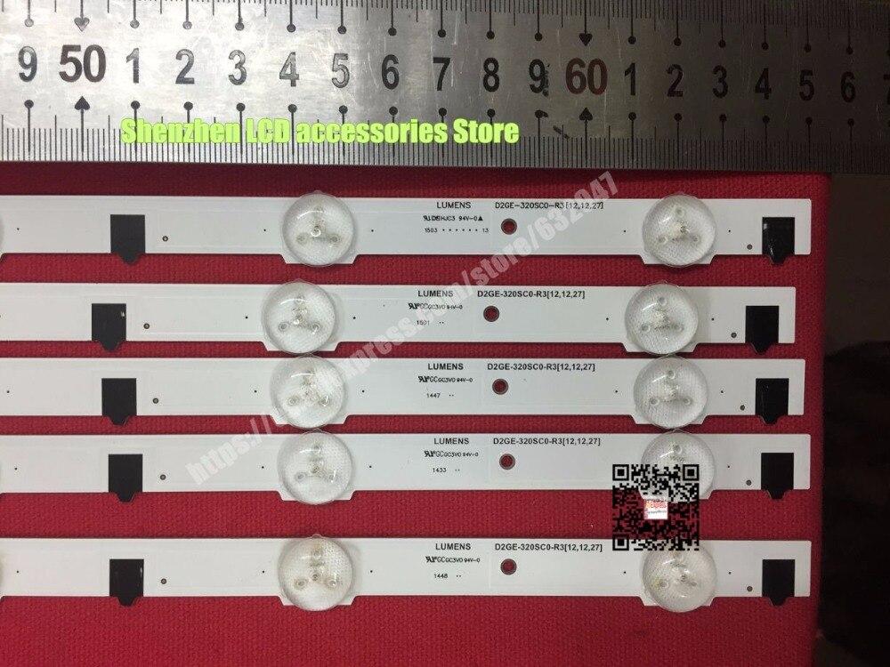FOR samsung 32 inch UA32F4088AR UA32f4100AR Ue32f5000 backlight LUMENS D2GE-320SC0-R3 650MM 9LEDS колонка samsung radiant 360 r3 wam3500