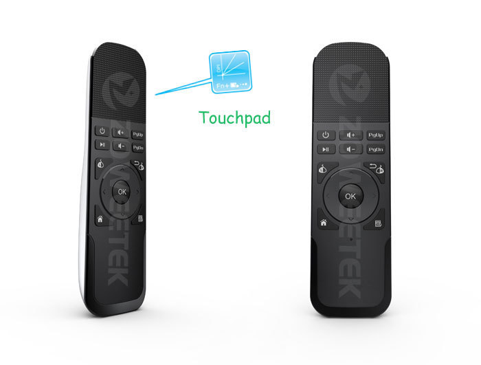 Mini Wireless Keyboard With Touchpad Handheld And Multi Media Remote Control For Pc Smart Phone Tv Box Product In Keyboards From Computer