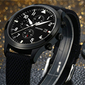 Men's Watches Luxury Branded Military Pilots Watch Automatic Mechanical Watch Men's Luminous Waterproof 50M Clock New