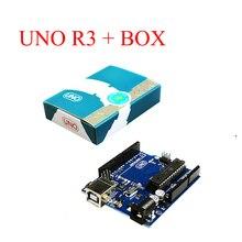 Официальная Версия Uno R3 MEGA328P ATMEGA16U2 MCU Основной Плате для Arduino Оригинальный IC с Розничной Упаковке Box