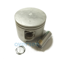 6R5 11631 01 93 Piston Set STD For Yamaha 115HP 150HP 200HP Outboard Engine boat Motor Brand new Aftermarket Part