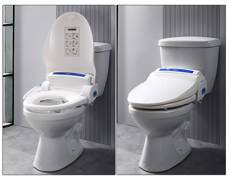 Intelligente Toilette Abdeckung Beheizte Sitz Bad Multifuntional Wc