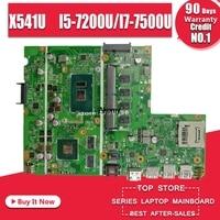 Laptop Motherboard Für ASUS F541U R541u X541U X541UV X541UVK Mainboard 8G/4G RAM I5 7200U/I7 7500U (v2G) austausch!!!-in Motherboards aus Computer und Büro bei