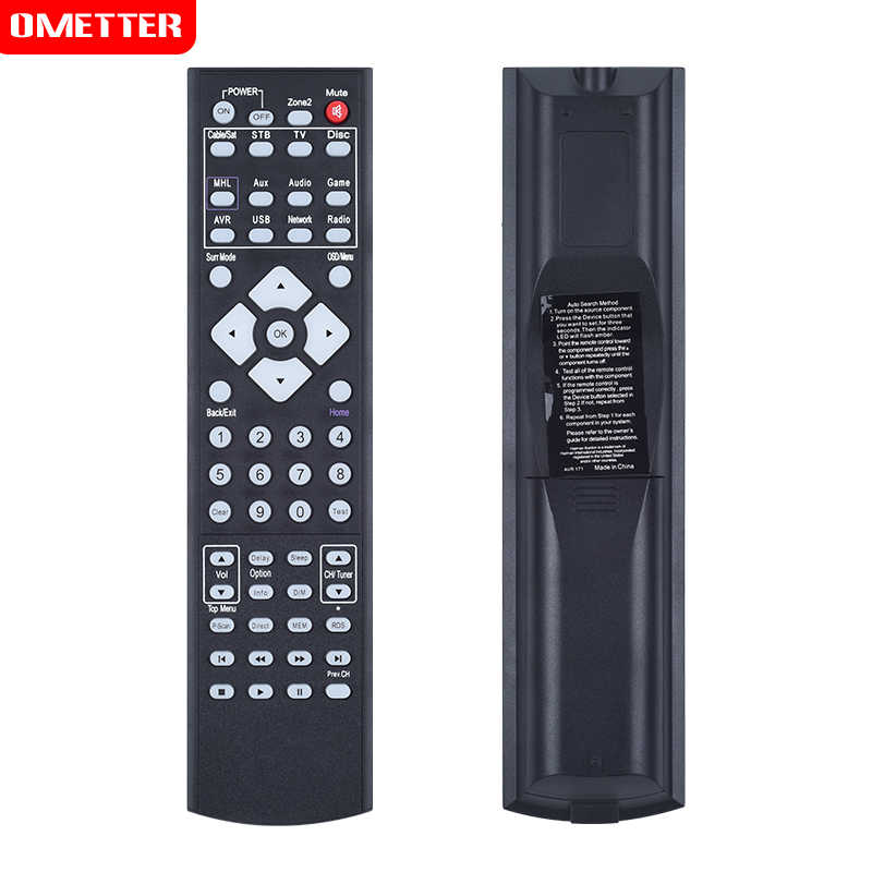 Detail Feedback Questions about REPLACEMENT REMOTE CONTROL FOR AV
