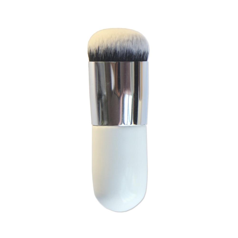Мода макияж инструменты Портативный круглые пухлые Pier Фонд кисть Прямая доставка 10,5 см волос 1,5 см 0018