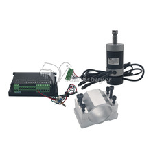 CNC Engraving 0.4KW Brushless Spindle Motor ER11 & Driver Speed Controller & Mount